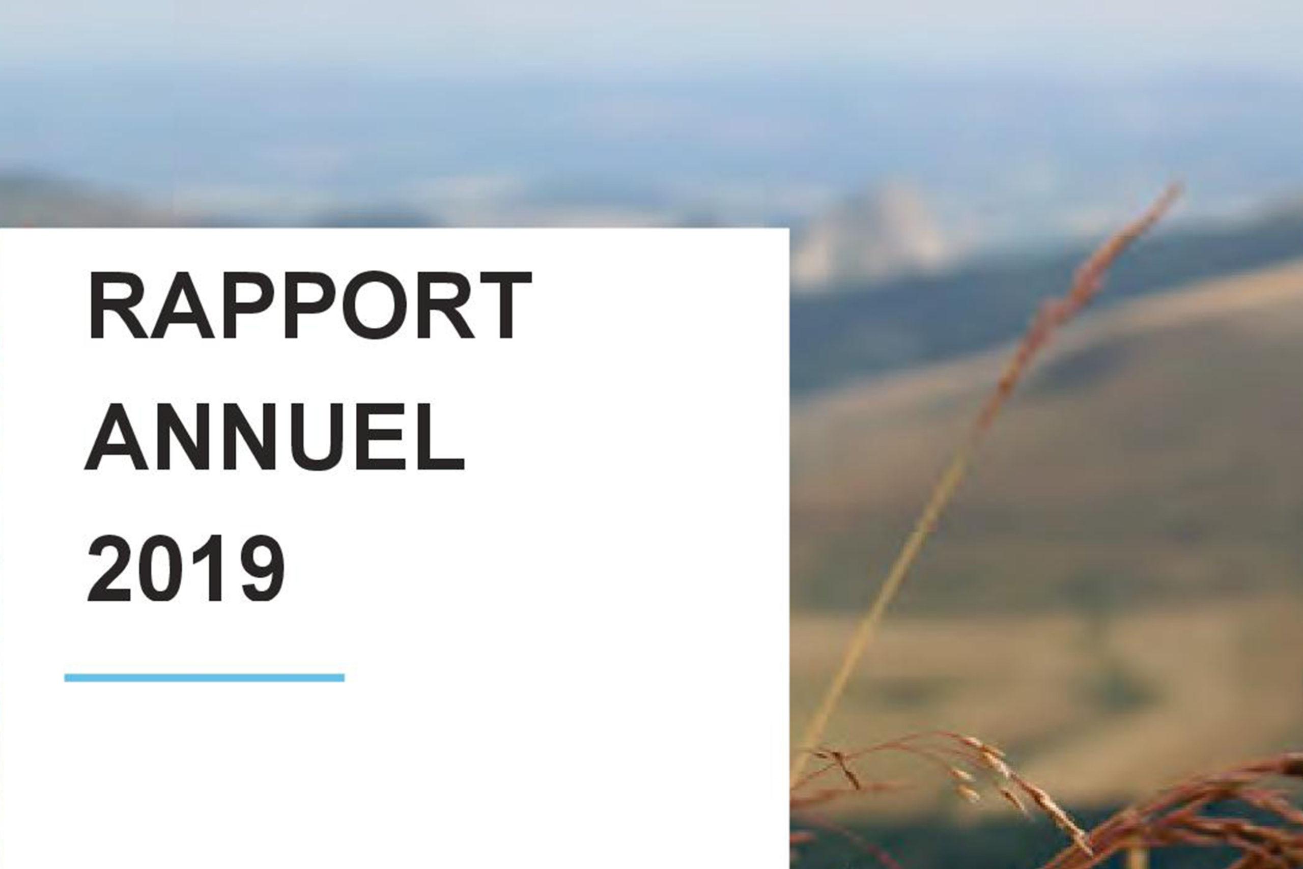Rapport annuel 2019 du Pôle Bio Massif Central