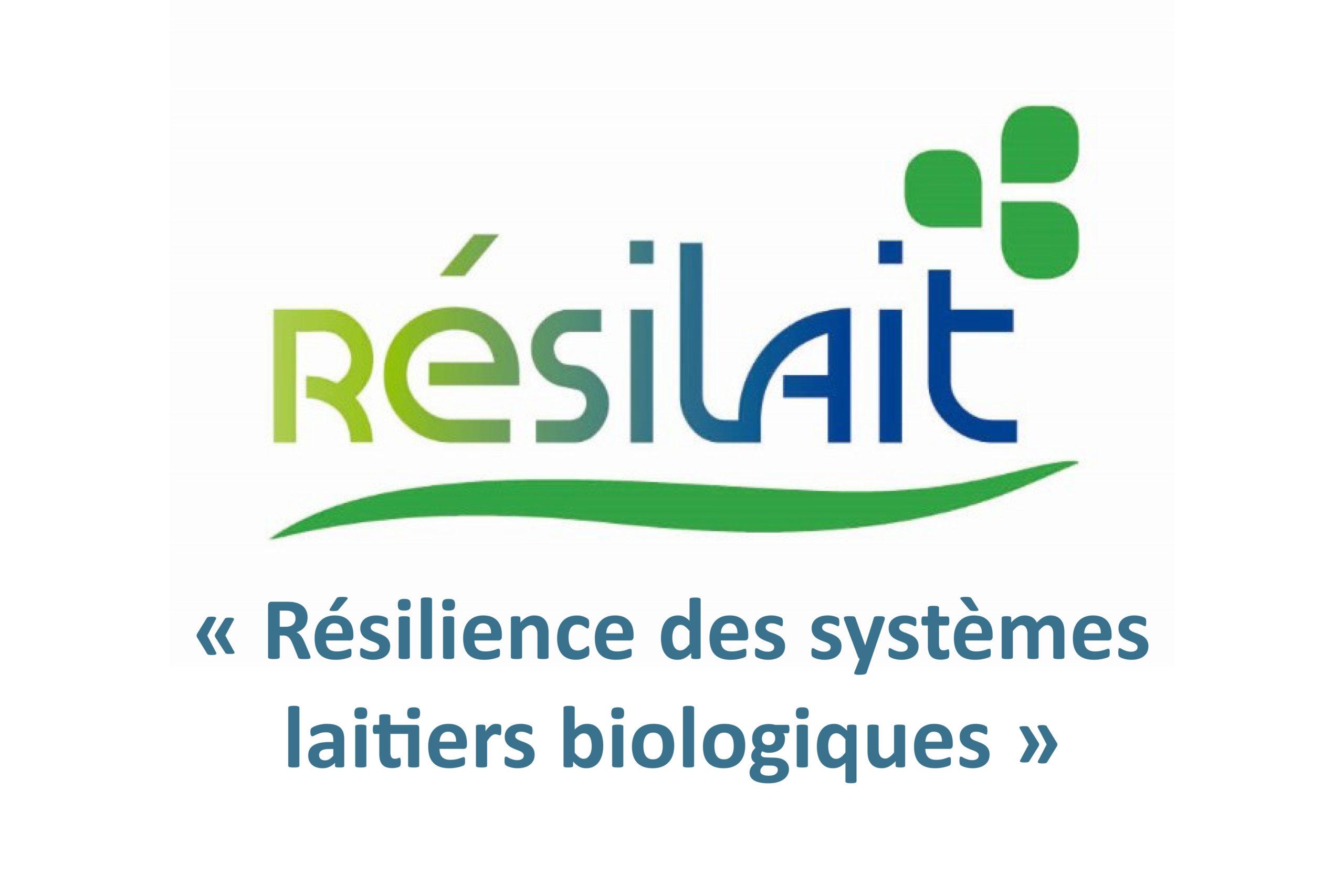 Résilait : Quid de la résilience des élevages laitiers bio ?